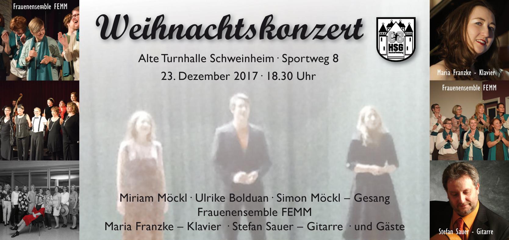Weihnachtskonzert 2017