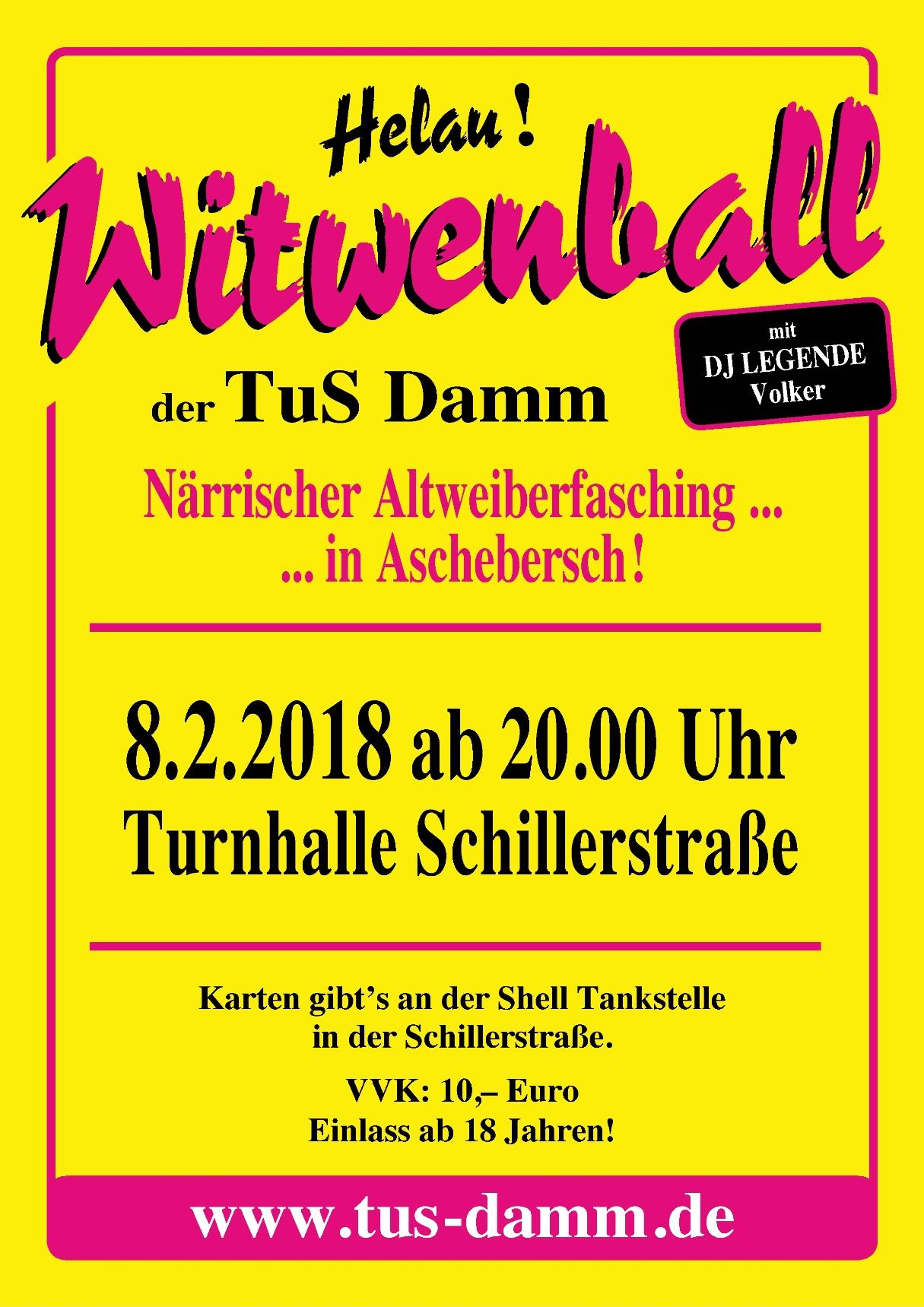Witwenball 2018