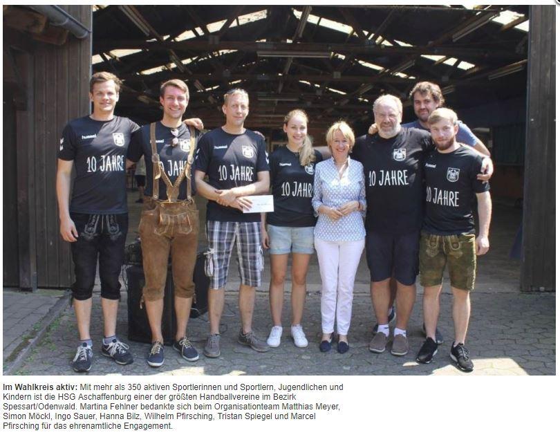 10 Jahre HSG Aschaffenburg 08
